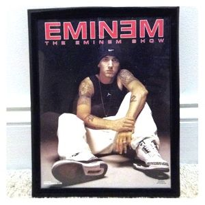 COPY - Framed Eminem Photo